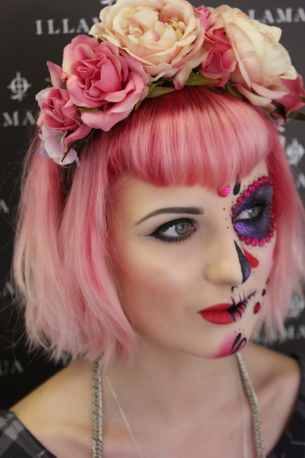 Professional halloween makeup